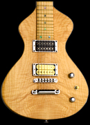 Handcrafted Lap Steel Guitar, slide guitar 1, Flamed Maple top