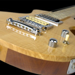 Handcrafted Slide Guitar, Flamed Maple top with Alder/Mahogany hybrid body