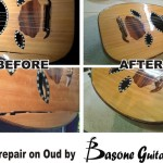 crack repair on oud by Basone