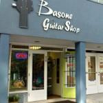 Basone Guitar Shop Storefront, Vancouver's music store