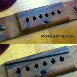 Converting a right handed guitar to left handed, by Basone