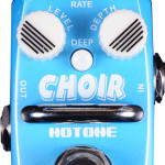 Hotone Choir analog chorus mini pedal on sale in Vancouver Canada at Basone