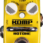 Hotone Komp opto compressor mini pedal on sale in Vancouver Canada at Basone