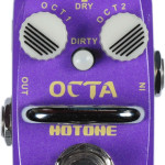 Hotone Octa octave mini pedal on sale in Vancouver Canada at Basone