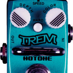 Hotone Trem tremolo mini pedal on sale in Vancouver Canada at Basone