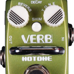 Hotone Verb reverb mini pedal on sale in Vancouver Canada at Basone