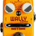 Hotone Wally looper station mini pedal on sale in Vancouver Canada at Basone Guitars