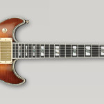 Ibanez AR420-VLS Violin Sunburst electric guitar on sale in Vancouver Canada at Basone