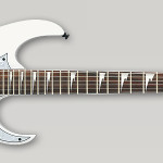 Ibanez RG350DXZ-WH electric guitar on sale in Vancouver Canada at Basone
