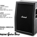 Marshall MX212A 2 x 12 Celestion Seventy 80 Speaker Cabinet on Sale in Vancouver Canada at Basone