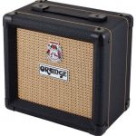 Orange 1x8 Speaker Cabinet ppc108-bk Black, for Micro Terror or Micro Dark, on sale in Vancouver Canada at Basone