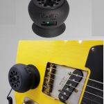 Strum Buddy personal guitar monitor and amplifier, Micro Guitar Amp with suction cups that attach to the guitar, on sale in Vancouver Canada at Basone