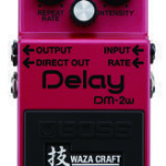 Boss Delay pedal Waza Craft DM-2W on sale in Vancouver Canada at Basone
