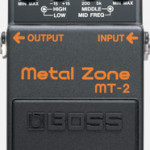 Boss Metal Zone MT-2 pedal on sale in Vancouver Canada at Basone