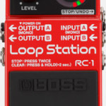 Boss Loop Station RC-3 pedal on sale in Vancouver Canada at Basone