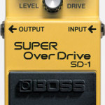 Boss Super Overdrive SD-1 pedal on sale in Vancouver Canada at Basone