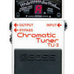 Boss Chromatic Tuner TU-3 on sale in Vancouver Canada at Basone