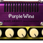 Hotone Purple Wind Inspired by the Plexi Super Lead. On sale in Vancouver Canada at Basone.