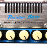 Hotone Thunder Bass mini amp head Inspired by the Ampeg SVT. On sale in Vancouver Canada at Basone.
