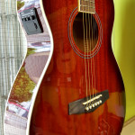 ibanez pn12e-vms2 parlor acoustic electric guitar on sale in Vancouver Canada at Basone