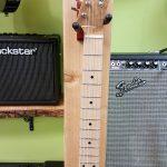 Kinal tele Myrtlewood top custom electric guitar on sale in Vancouver at Basone