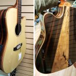 Tanglewood Java Dreadnought Acoustic Electric Guitar twjdce on sale in Vancouver Canada at Basone