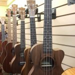 Tanglewood TUPWET Walnut body Acoustic-Electric Tenor Ukulele Tenor size on sale in Vancouver Canada at Basone