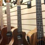 Tanglewood TUPWEC Walnut body Acoustic-Electric Concert Ukulele on sale in Vancouver Canada at Basone