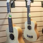 Tanglewood TUZSC Zebrano wood body Ukulele Concert and Soprano size on sale in vancouver Canada at Basone