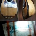 BowlBack Mandolin handcrafted by Raffaele Calace, master Italian builder. On sale at Basone