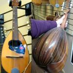 Bowlback Mandolin by Sicil Musica, Catania Italy, on sale in Vancouver Canada at Basone