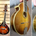 Piccolo Mandolin handcrafted by Gene Stephenson, on sale in Vancouver Canada at Basone