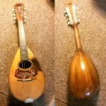 1904 Mandolin by C. F. Martin & Co., Nazareth, Pennsylvania. Includes antique leather case.