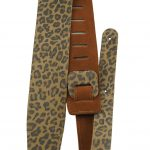 Perris P25PRNT_6721 Leopard print guitar strap on sale in Vancouver Canada at Basone
