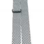 Perris TWS_6727 black and white checkers pattern guitar strap on sale in Vancouver Canada at Basone