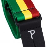 Perris lpcp-2004 reggae rastafari colors guitar strap on sale in Vancouver Canada at Basone