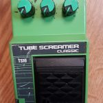 Ibanez Tube Screamer guitar pedal made in Japan as played by John Mayer, on sale in Vancouver Canada at Basone