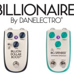 Danelectro Billionaire Guitar Pedals, Pride of Texas, Billion Dollar Boost, Big Spender Spinning Speaker, Filthy Rich Tremolo effects pedal on sale in Vancouver Canada at Basone