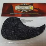 Leather Pickguard for Acoustic Guitar, Black  On sale in Vancouver Canada at Basone