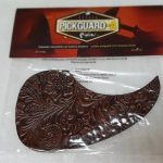 Leather Pickguard for Acoustic Guitar, Woody, On sale in Vancouver Canada at Basone