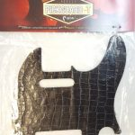 Leather Pickguard for Telecaster tele electric Guitar, Dark Coco Brown, On sale in Vancouver Canada at Basone