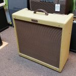 Fender Blues DeVille Reissue 4x10 tube combo amp, tweed cover, Used , for sale in Vancouver BC Canada at Basone