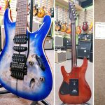 Ibanez S1070PBZ-CLB Premium electric guitar with hard case for sale in Vancouver Canada at Basone