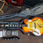 D'Angelico Excel 59 Semi Hollow Electric Guitar with Case for sale in Vancouver Canada at Basone