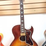 Mann acoustic electric archtop vintage guitar 1970s, for sale in Vancouver Canada at Basone