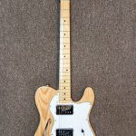 Squier Vintage Modified '72 Telecaster Thinline Guitar, lightly used, for sale in Vancouver BC at Basone Guitar Shop