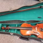 Corelli full size Violin with case, used, for sale in Vancouver Canada at Basone