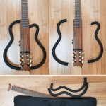 Aria sinsonido travel classical acoustic-electric guitar, includes bag, for sale in Vancouver Canada at Basone