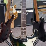 Eastwood Sidejack DLX Green Burst used, for  sale in Vancouver Canada at Basone