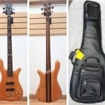 Warwick Streamer Stage 2 Masterbuilt 4-string Bass Guitar, Custom Shop, handcrafted in Germany. Includes deluxe leather soft case, for sale in Vancouver Canada at Basone